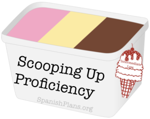 A blog post about using the metaphor of Ice cream to talk about proficiency in the world language classroom.
