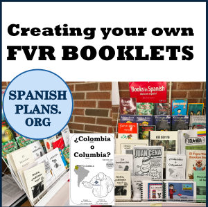 Creating your own FVR books