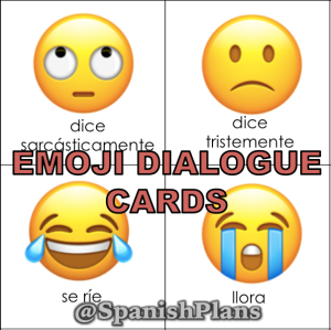 Emoji Dialogue Cards