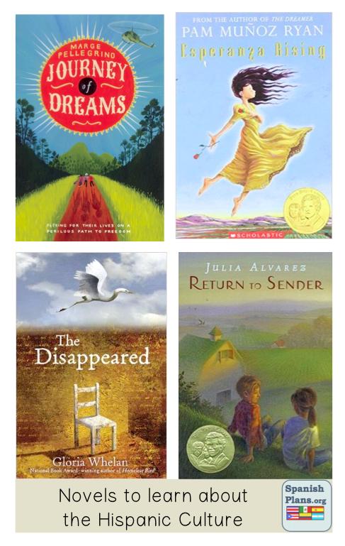 Novels about Hispanic Culture