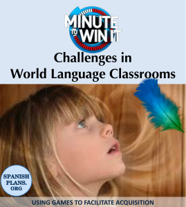 Using challenges to facilitate language acqusition