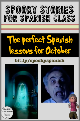 Spooky Stories for Spanish Class