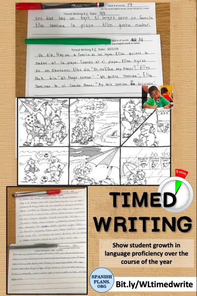 Timed Writing Langchat