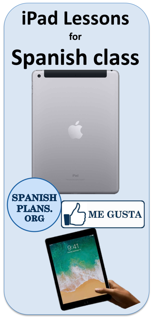 Ipad Lessons for Spanish