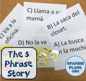 How to do a 5 Phrase Story in a CI classroom
