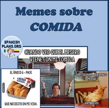 spanish memes comida