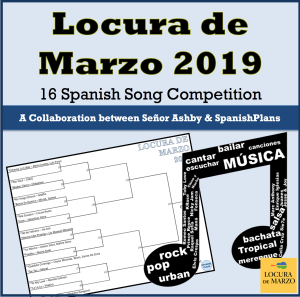 March Music Madness 2019   SpanishPlans org