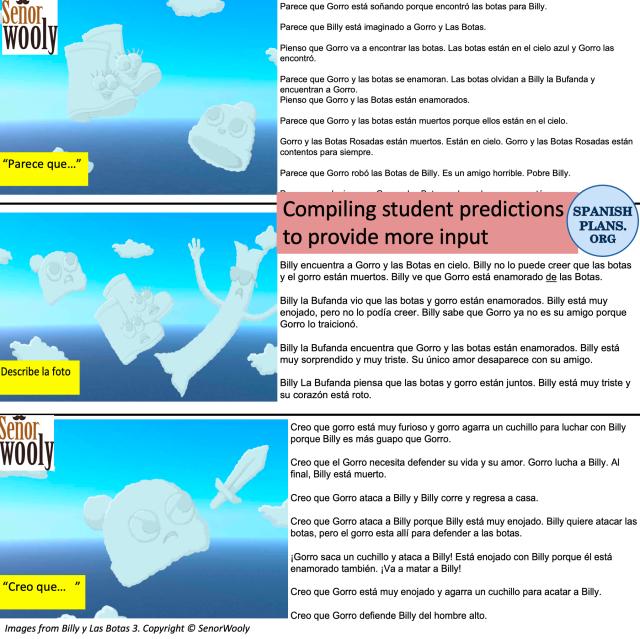 Billy y Las Botas Student Predictions