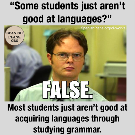 Some students just aren't good at languages meme
