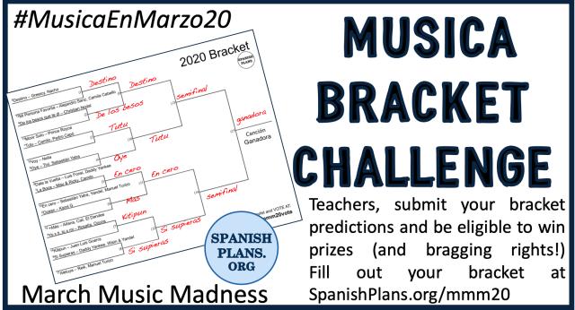 March Music Madnes Bracket Challenge
