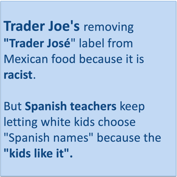 Trader Joes to remove Trader Jose labels