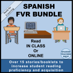 Spanish FVR Digital Library Bundle available on TeachersPayTeachers