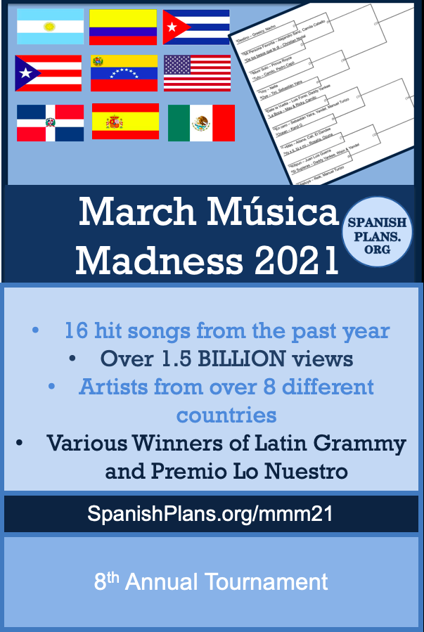 Música de marzo 2021
