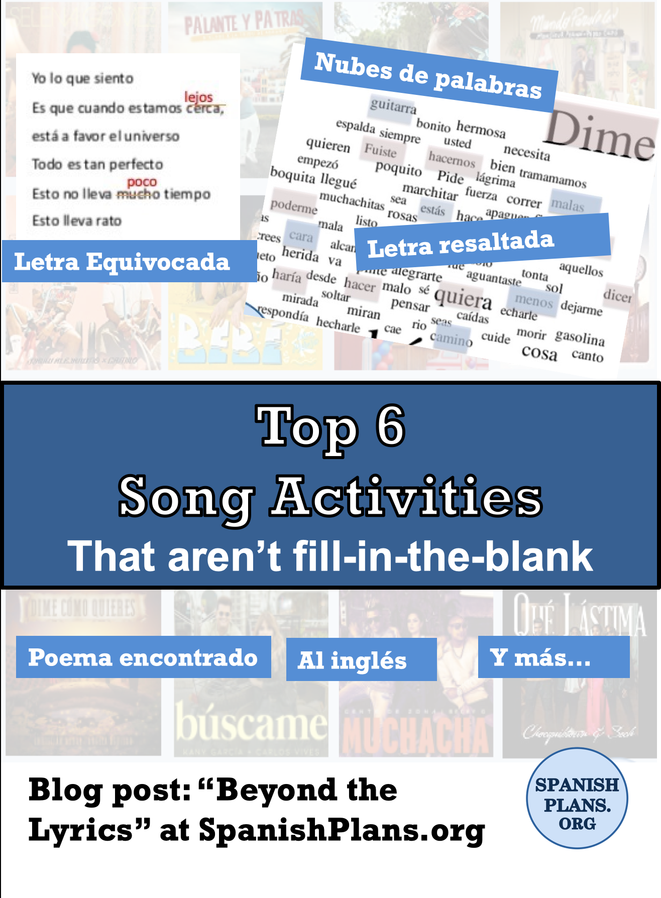 Top 6 song activities